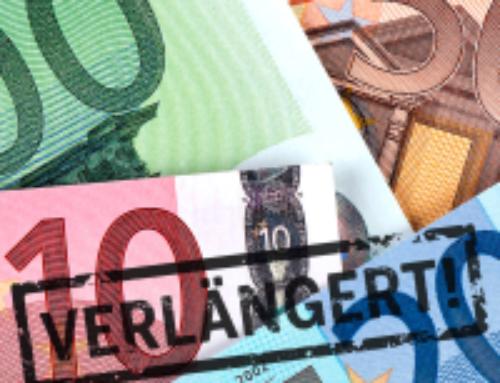 Verlängerung der steuerlichen Maßnahmen zur Vermeidung unbilliger Härten